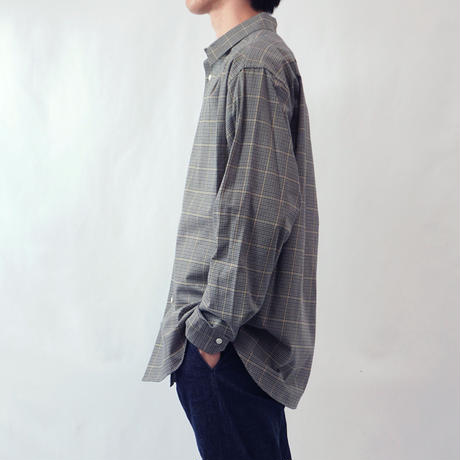 five tuck shirts-BEIGE