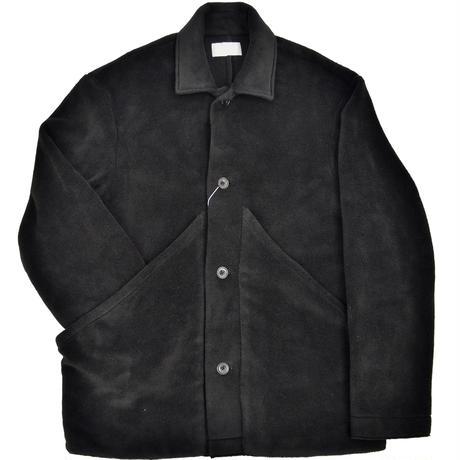 roof pocket fleece short blouson