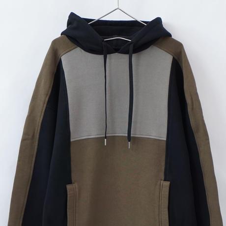 switching hoodie - BLACK