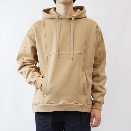 switching hoodie - ONE TONE BEIGE