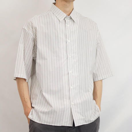FRONT FLAT SHIRTS/BET-S08001-211-WHITE