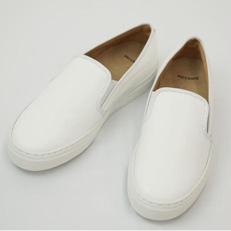 PICCANTE Slip-ons Shoes - WHITE