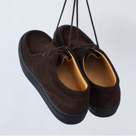 PICCANTE Tyrolean Shoes - BROWN