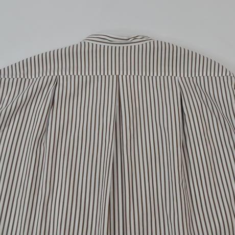 five tuck band collar shirts