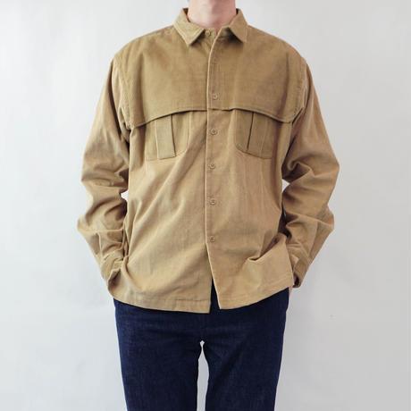 relax mackinaw shirts jacket - CORDUROY BEIGE