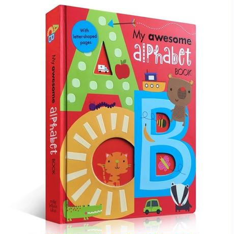 初めてのアルファベット My awesome alphabet ポップアップ絵本