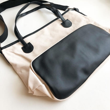 29GB  cottonバイカラーbag