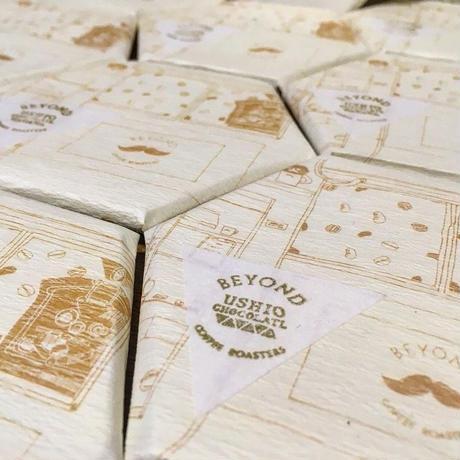 USHIO CHOCOLATL x BEYOND COFFEE ROASTERS [3枚セット]