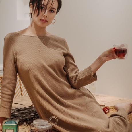2WAY THERMAL FLARE DRESS