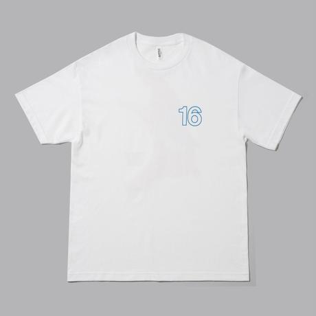 16(sixteen)×B.H.R Tシャツ