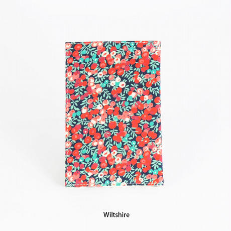 LIBERTY PRINT BOOK COVER 新書