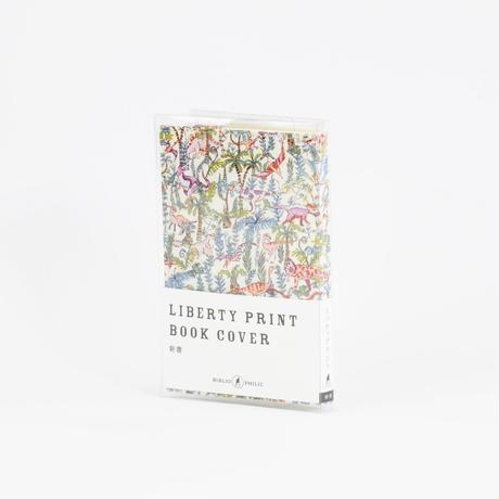 LIBERTY PRINT BOOK COVER 新書