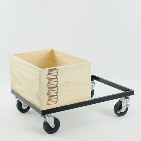 BOOK CONTAINER CART