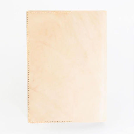 COW LEATHER BOOK COVER A5判 栃木レザー