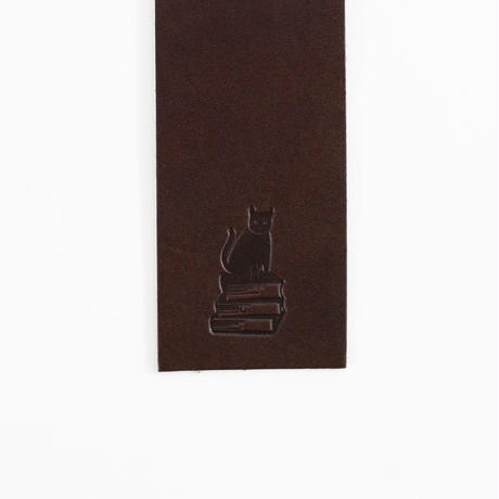 COW LEATHER BOOKMARK