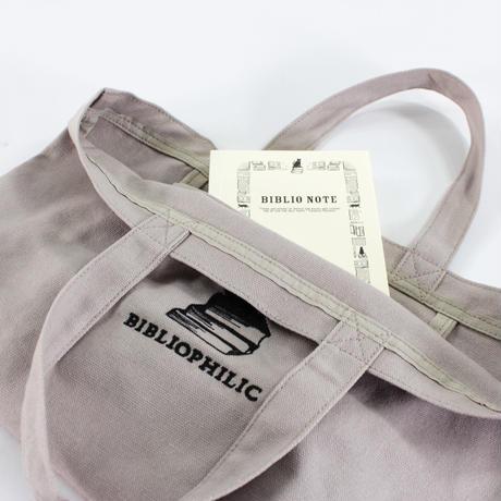 BIBLIOPHILIC CANVAS TOTE BAG  S size