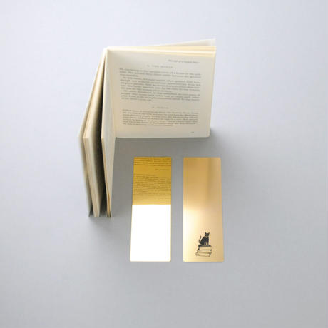 ALUMINUM PLATE BOOKMARK