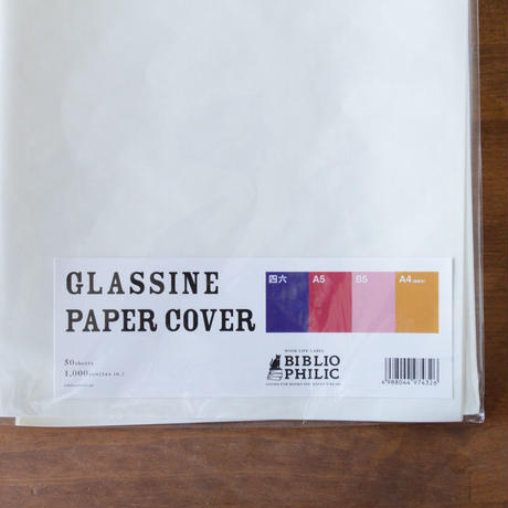 GLASSINE PAPER COVER L