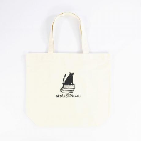 数量限定 Nukeme  ×  BIBLIOPHILIC  グリッチ刺繍キャンバストートバッグ Lサイズ