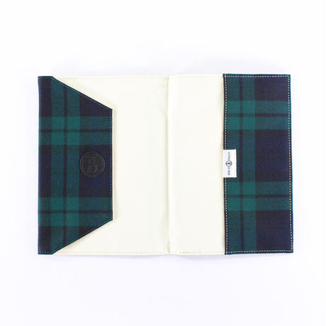 LOCHCARRON TARTAN BOOKCOVER A5