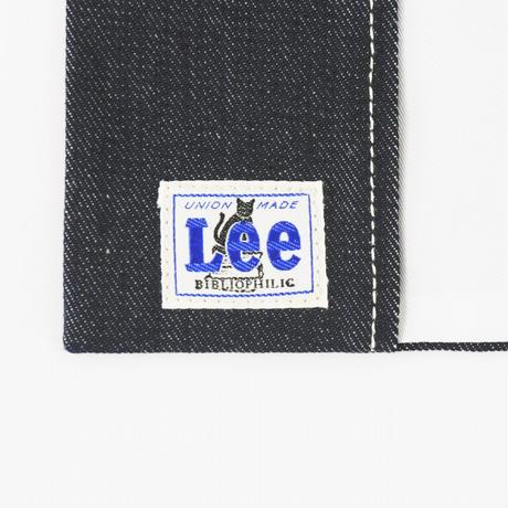 LEE BOOK COVER  新書  DENIM BLUE
