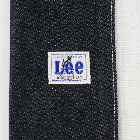 LEE BOOK COVER  A5  DENIM BLUE