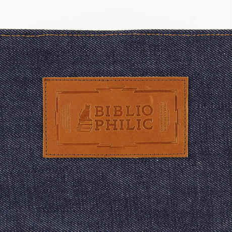 BOOK TOTE BAG DENIM