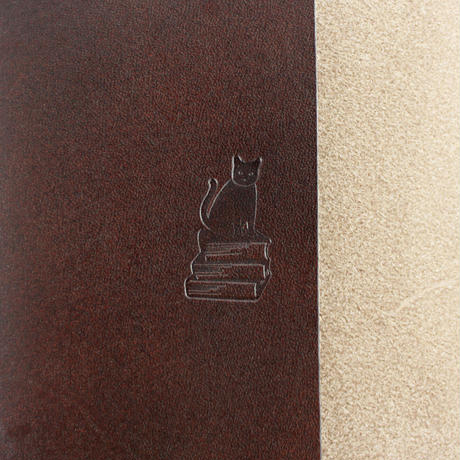 COW LEATHER BOOK COVER 新書