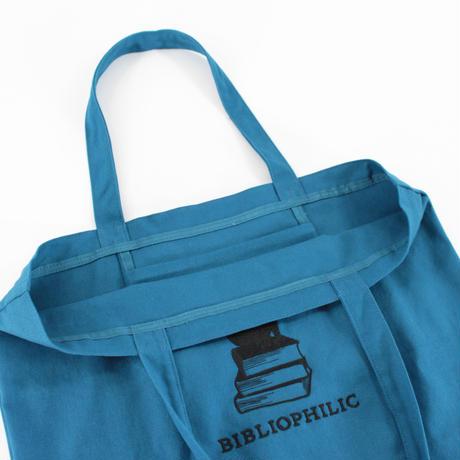 BIBLIOPHILIC CANVAS TOTE BAG  L size