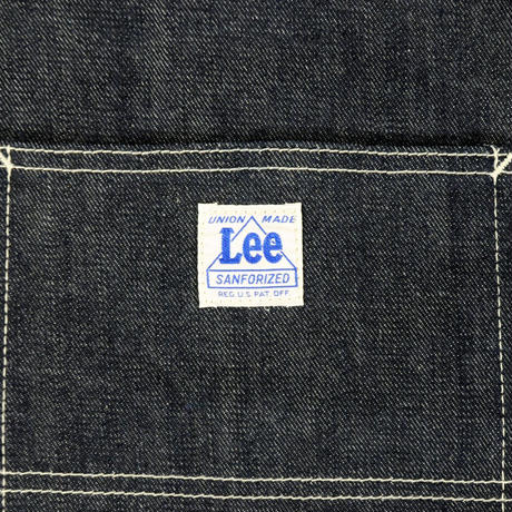 LEE BOOK TOTE DENIM
