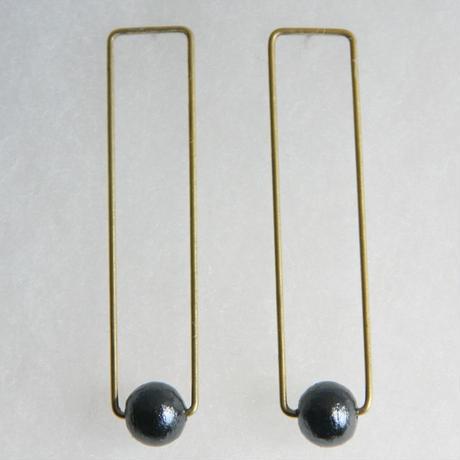 rectangle pearl pierce [VP-033b]