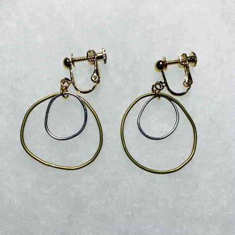 maru earring double [VE-013]