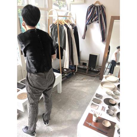 NORAGI PANTS ヤマッパカマ/ 会津木綿 生成り