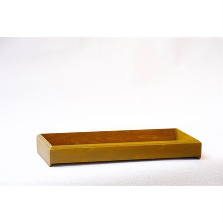 fumibaco  pen tray /漆文箱ペン入