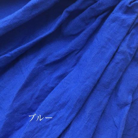YAMMA リネンギャザースカート 丈プラス10センチ