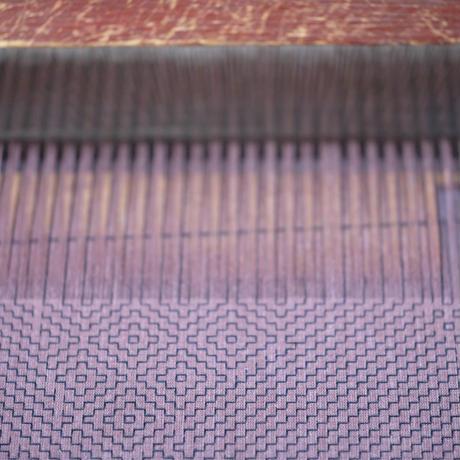 紋刺し子織マスク