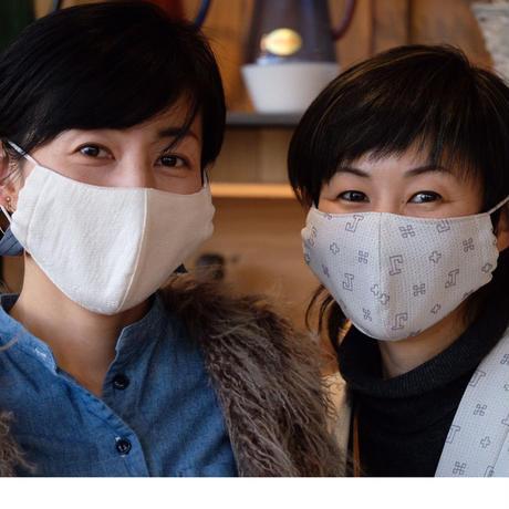刺し子織マスク