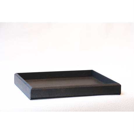 fumibaco  letter tray  /漆文箱浅広型