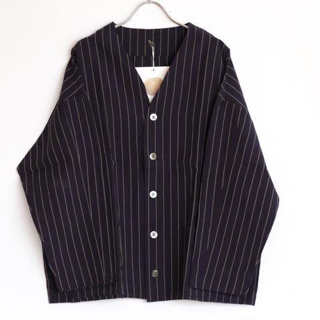 YAMMA   会津木綿ダボ袖ジャケット ロング丈  ADS-JK-L