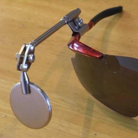 アイウェア装着型バックミラー