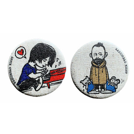 Radiohead Night 応援pac T-shirt セット A(ナチュラル)