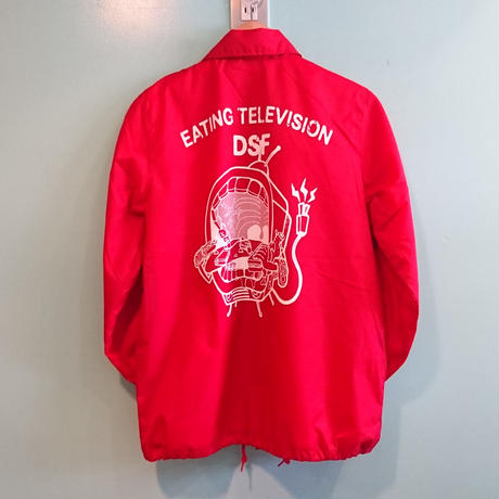 EATING TELEVISION コーチジャケット red