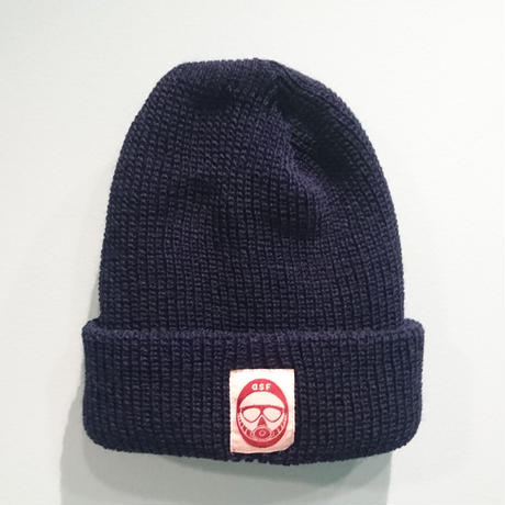 DSF LOGO knit navy