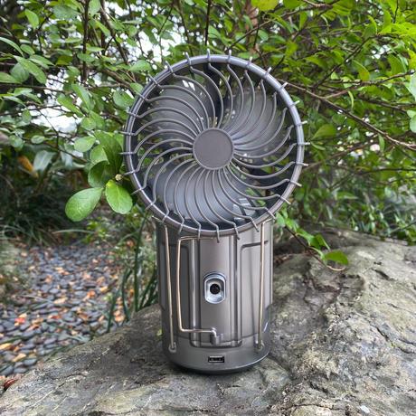 扇風機付きLEDランタン2個セット