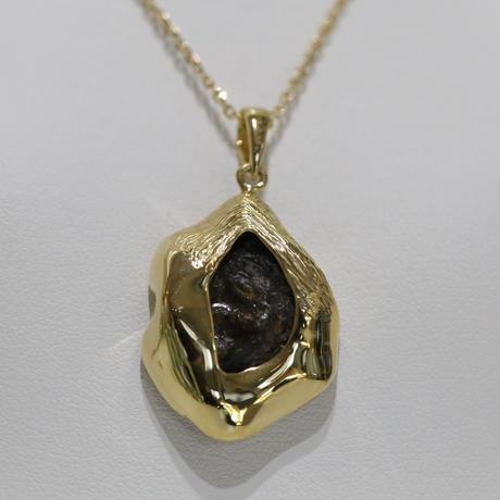 イミラックパラサイト隕石®︎18金ダイヤモンドネックレス【至高】
