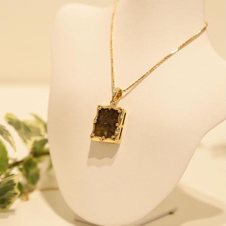 イミラックパラサイト隕石®︎18金ダイヤモンドネックレス【8方吉】
