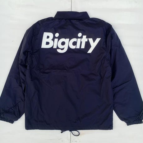 Bigcityコーチジャケット今期人気nevy!お好きな刺繍カラーをえらべます