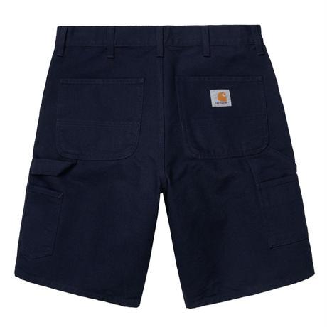 Carhartt Wip / Single Knee Short - DarkNavyRinsed