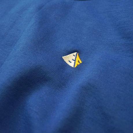 Blaq Flavor / Chest Logo Sweat - Blue