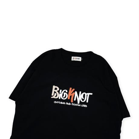 S/S Big Fxxkin Knot Tee - Black